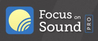 Focus on Sound Pro logo